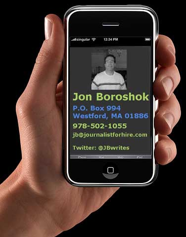 contact Jon Boroshok